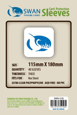 115x180 mm Rex Sheet-40 per pack Premium/Thick  (SWN-518)