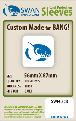 56x87mm - 100 Pack, Thick Sleeves - Bang