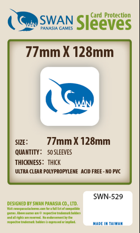 77x128mm - 50 Pack, Thick Sleeves