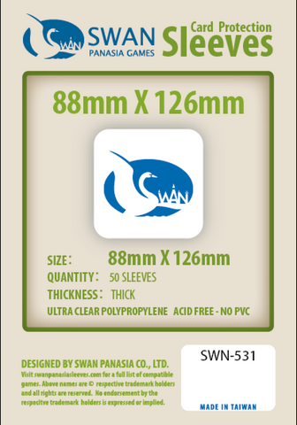 88x126mm - 50 Pack, Thick Sleeves