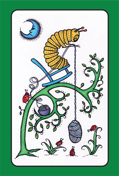 Mama Caterpillar - Greeting Card - Ferris Arts