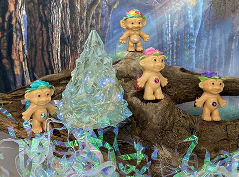 Enchanted Woodland Fairy Troll Dolls