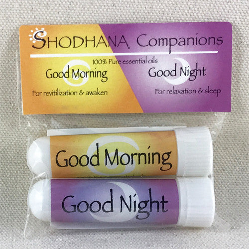 Good Morning & Good Night Aromatherapy Inhalers - Ferris Arts