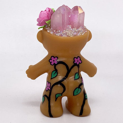 Crystal Rose Baby Troll Doll - Ferris Arts