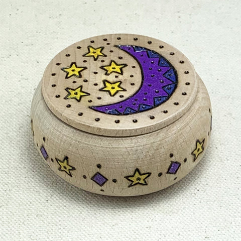 Round Moon Box - Light - Ferris Arts