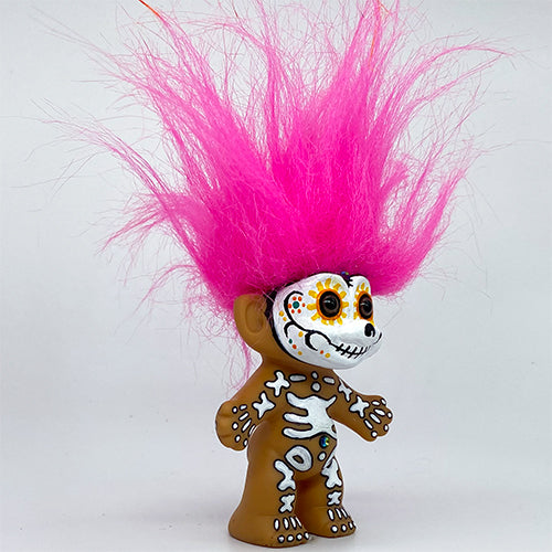 Day of the Dead Troll Doll