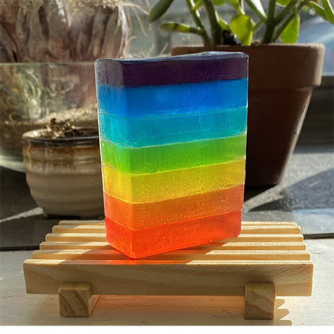 Chakra Soap for Balancing & Cleansing - Ferris Arts