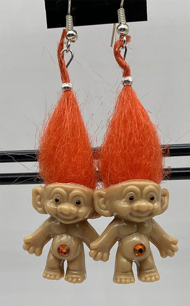 Treasure Troll Earrings - Ferris Arts