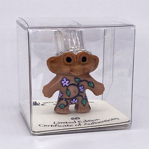 Angel Aura Crystal Flower Troll Doll - Ferris Arts