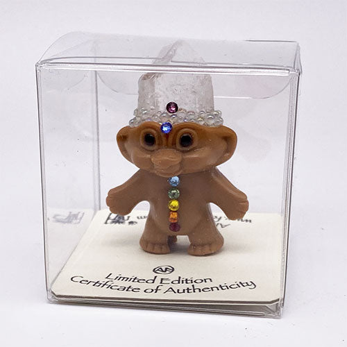 Mini Chakra Crystal Troll Doll - Ferris Arts
