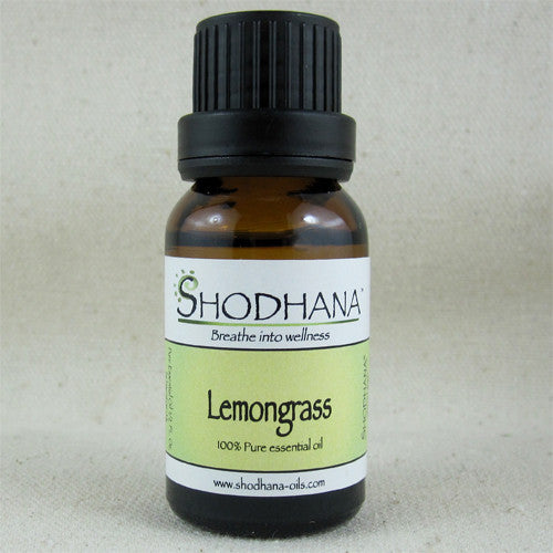 Shodhana Lemongrass Essential Oil - Ferris Arts