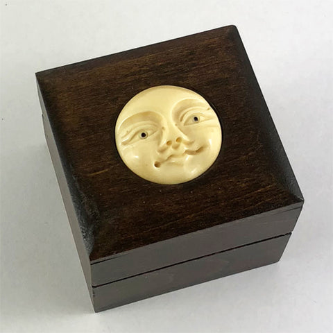 Bone Moon Face Box - Ferris Arts