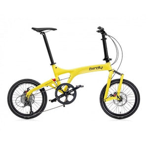 Birdy Standard 9-Speed Dual Disc Brakes Yellow