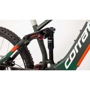 Corratec E-Power RS 160 Elite Dark Green/Gray
