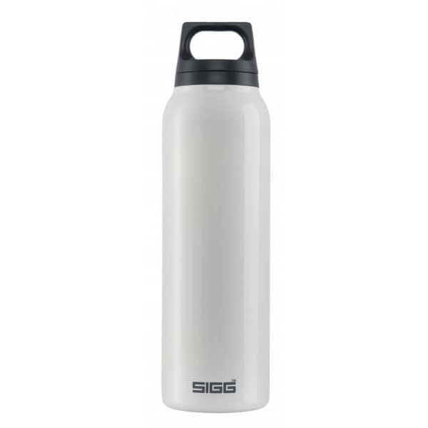 SIGG Hot and Cold Water Bottle 0.5L White with Tea Filter