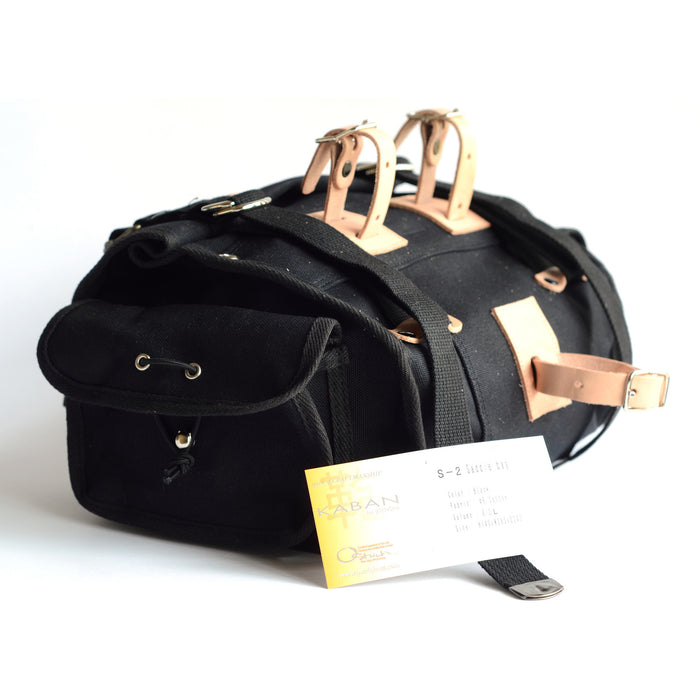 Ostrich S-2 Saddle Bag Black