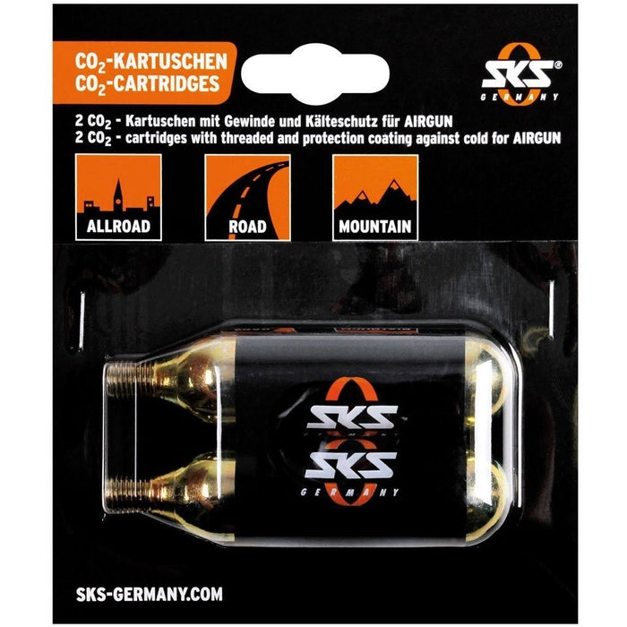 SKS CO2 Cartidges 16 Grams with Thread (Pack of 5)