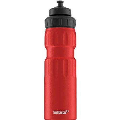 SIGG Wide Mouth Bottle Sport 0.75L Red
