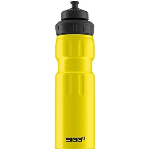 SIGG Wide Mouth Bottle Sport 0.75L Yellow