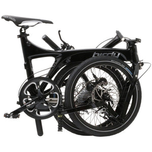 Birdy Standard 9-Speed Dual Disc Brakes Black