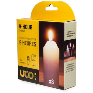UCO 9-Hour Candles 3-Pack