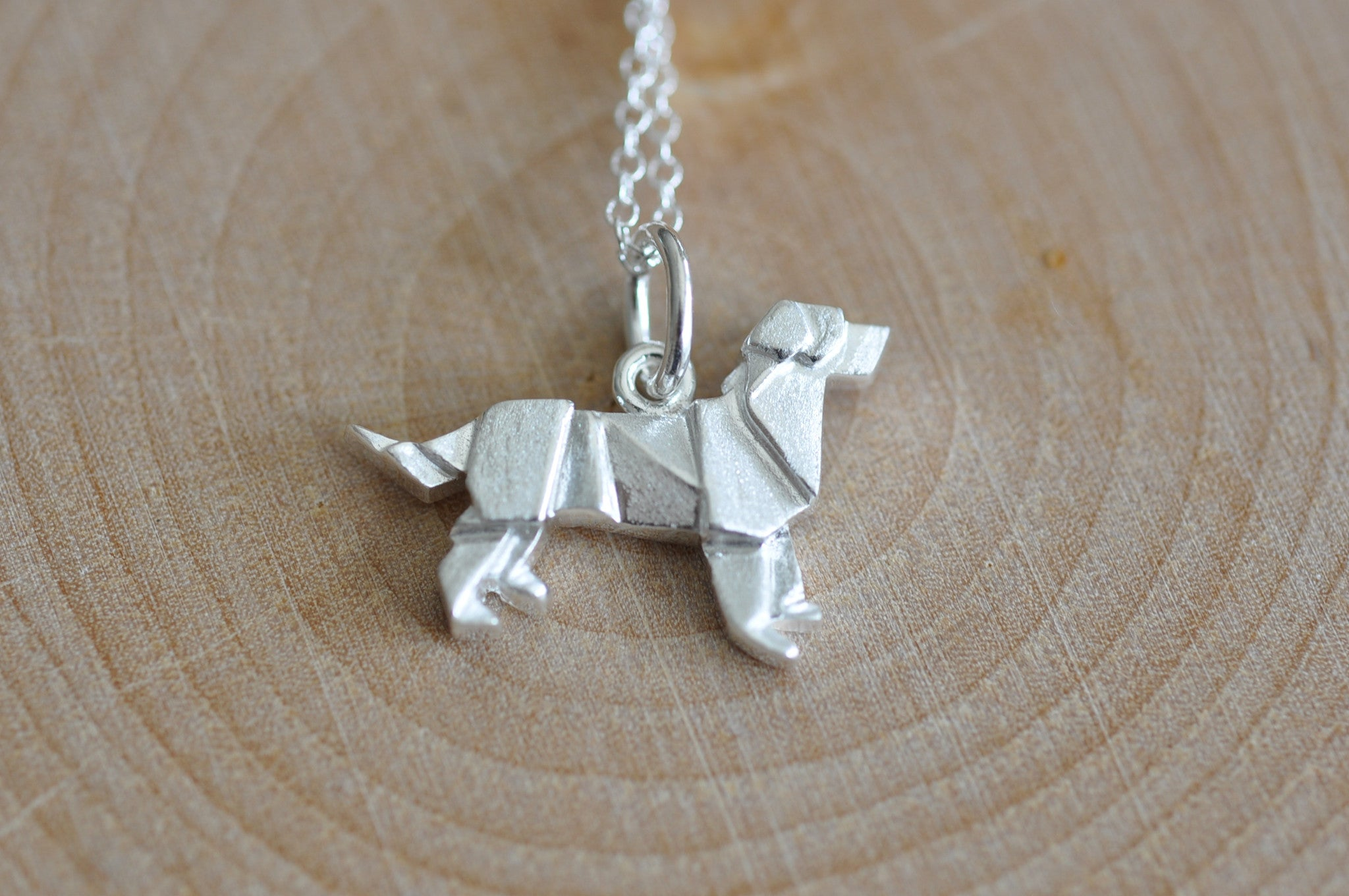 Origami Dog Necklace Newest Member Jamber Jewels