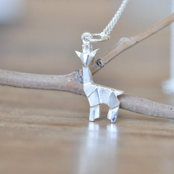 jewelry products silver giraffe edit b spoon necklace