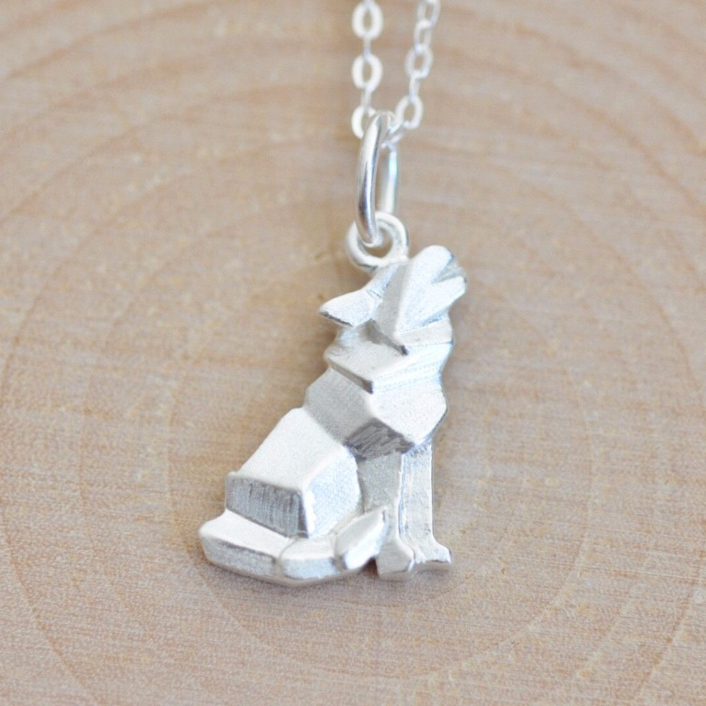 Origami Wolf Necklace Newest Member Jamber Jewels