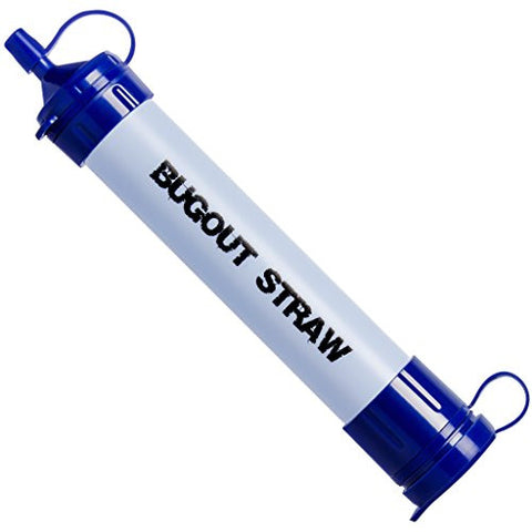BugOut Water Filter Survival Straw