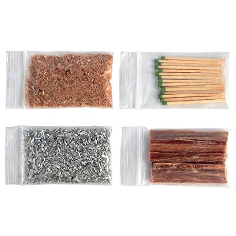 Fatwood Sticks Magnesium Chips Strike Anywhere Matches Fatwood Hand Cut in USA