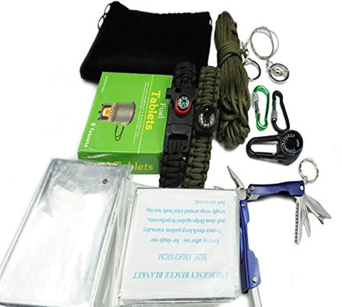 Multipurpose ChezMax Survival Kit Bracelet Survival Gear