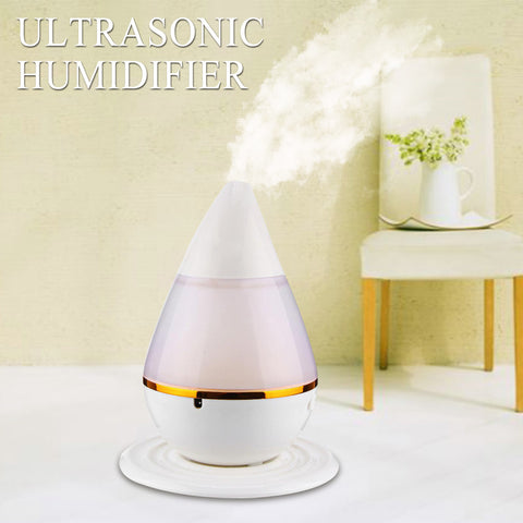 200ml 2W Ultrasonic Aroma Humidifier Air Essential Oil Diffuser