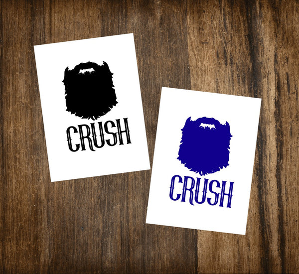 Beard Crush Decal