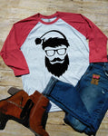 Bearded Santa Raglan