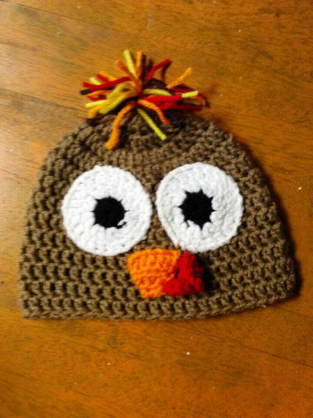 Crochet Turkey Beanie