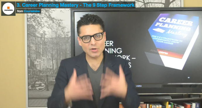 3. Career Planning Mastery - The 9 Step Framework