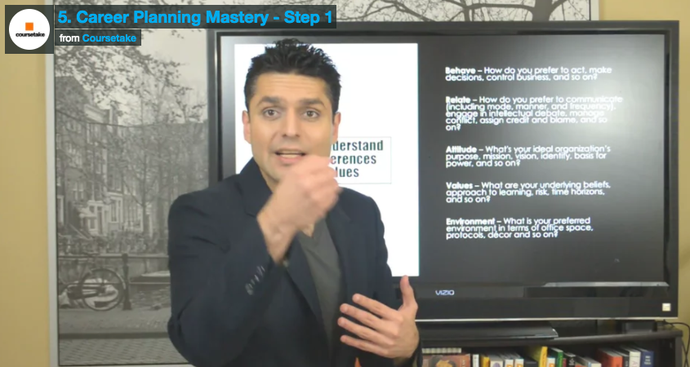 5. Career Planning Mastery - Step 1