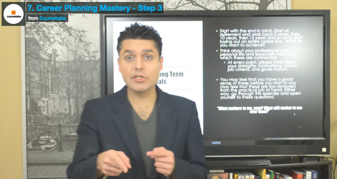7. Career Planning Mastery - Step 3