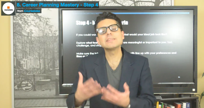 8. Career Planning Mastery - Step 4
