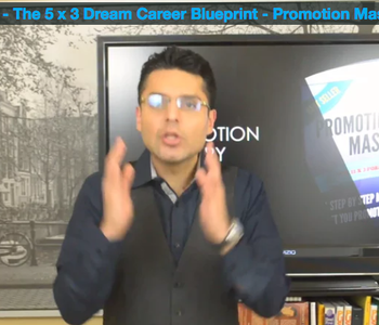 Accelerate - The 5 x 3 Dream Career Blueprint - Promotion Mastery