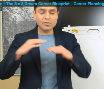 Career Planning Mastery - Accelerate - The 5 x 3 Dream Career Blueprint