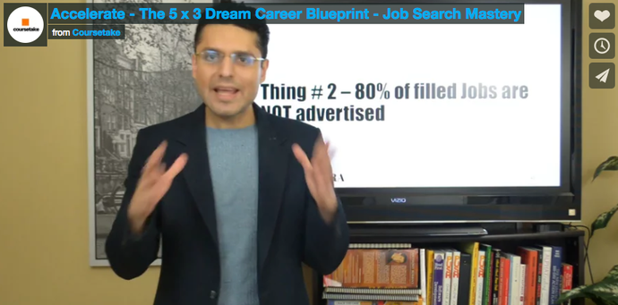 Job Search Mastery - Accelerate - The 5 x 3 Dream Career Blueprint
