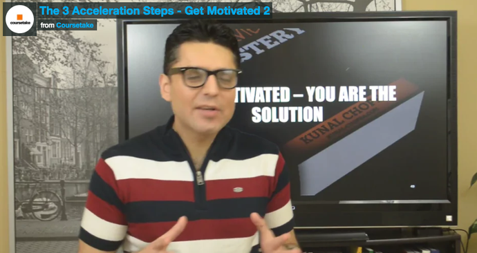 Career Planning Mastery - The 3 Acceleration Steps - Get Motivated 2