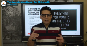 Job Search Mastery - The 3 Acceleration Steps - Get Motivated 3
