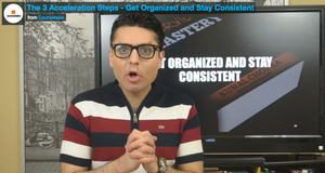 Negotiation Mastery - The 3 Acceleration Steps - Get Organized and Stay Consistent