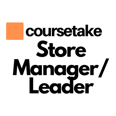 Store Manager/Store Leader