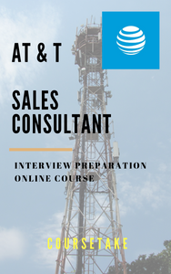 AT&T Sales Consultant Interview Preparation Course (with Workbook)