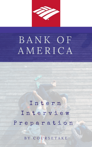Bank of America Intern Interview Preparation Study Guide