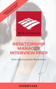 Bank of America Relationship Manager Interview Preparation Study Guide