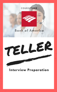 Bank of America Teller Interview Preparation Study Guide